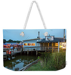 Happy Harbor Weekender Tote Bag