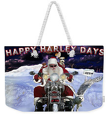 Happy Harley Days Weekender Tote Bag