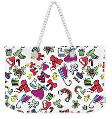 Happy Holiday  Weekender Tote Bag