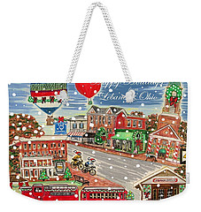 Happy Holidays From Lebanon, Ohio Weekender Tote Bag