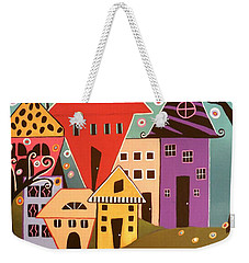 Happy Home Weekender Tote Bag