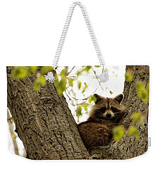 Happy In Her Hideout Weekender Tote Bag