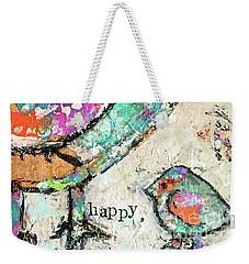 Happy Weekender Tote Bag