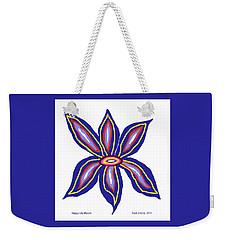 Happy Lily Bloom Weekender Tote Bag