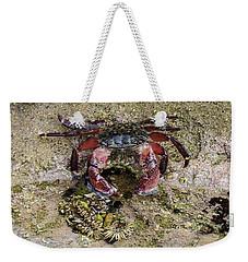 Happy Little Crab Weekender Tote Bag