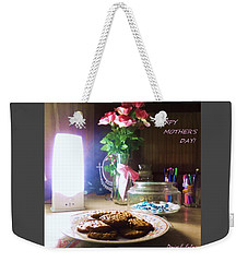 Weekender Tote Bag featuring the photograph Happy Mothers Day by Denise Fulmer