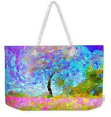 Happy Nature Weekender Tote Bag