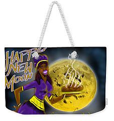 Happy New Moon Sirach 43 Weekender Tote Bag
