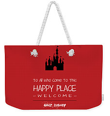 Happy Place Weekender Tote Bag