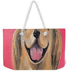 Happy Pup Weekender Tote Bag