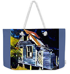 Weekender Tote Bag featuring the painting Happy Retirement by Diane E Berry