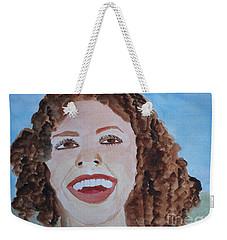 Happy Weekender Tote Bag by Sandy McIntire
