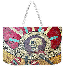 Happy Skull Weekender Tote Bag