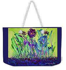 Happy Spring Weekender Tote Bag by Joan Hartenstein