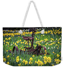 Happy Spring Weekender Tote Bag by Mitch Shindelbower