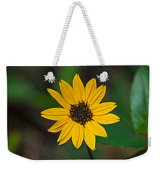 Happy Sunflower Weekender Tote Bag by Kenneth Albin