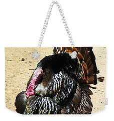 Happy Thanksgiving Weekender Tote Bag by Joseph Frank Baraba