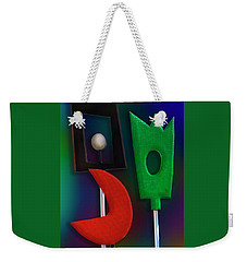 Weekender Tote Bag featuring the photograph Happy Together  by Paul Wear