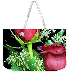 Weekender Tote Bag featuring the photograph Happy Valentines Day by Sandi OReilly