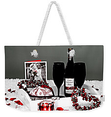 Happy Valentines Day Weekender Tote Bag