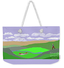 Happy Valley Farm Weekender Tote Bag