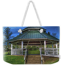 Weekender Tote Bag featuring the photograph Happy Valley Gazebo Art  by Thom Zehrfeld