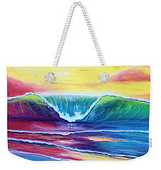 Happy Wave Weekender Tote Bag