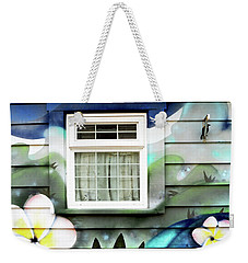 Happy Window Weekender Tote Bag by Haleh Mahbod