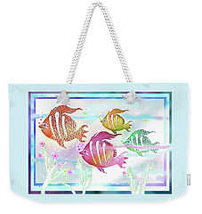Happiness Is A Clean Ocean  Weekender Tote Bag