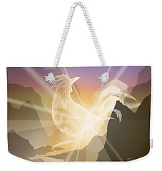 Harbinger Of Light Weekender Tote Bag