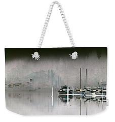 Harbor And Boats Weekender Tote Bag by John Rossman