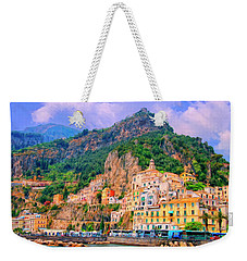 Harbor At Amalfi Weekender Tote Bag