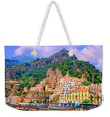 Harbor At Amalfi Weekender Tote Bag