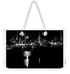 Harbor At Night Weekender Tote Bag