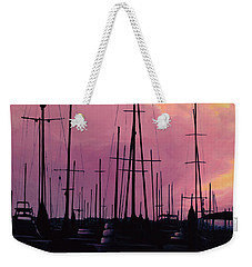 Harbor Glow Weekender Tote Bag