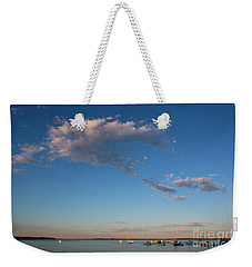 Harbor In Lincolnville,maine Weekender Tote Bag by Diane Diederich