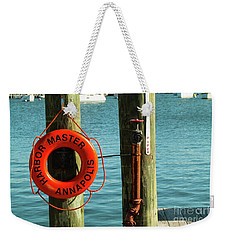 Harbor Life Preserver Weekender Tote Bag