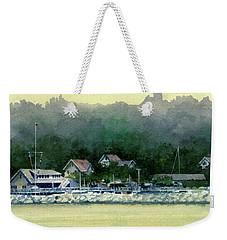 Harbor Master, Port Washington Weekender Tote Bag
