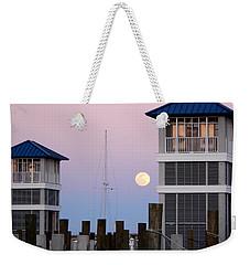 Harbor Moon Weekender Tote Bag