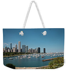 Harbor Parking In Chicago Weekender Tote Bag