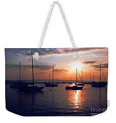 Harbor Sunrise Weekender Tote Bag