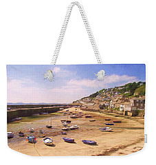Harbour At Low Tide - Mousehole Weekender Tote Bag