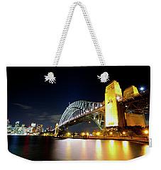Harbour City Weekender Tote Bag