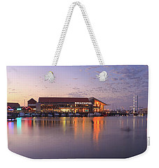 Weekender Tote Bag featuring the photograph Harbour Lights, Hillarys Boat Harbour by Dave Catley