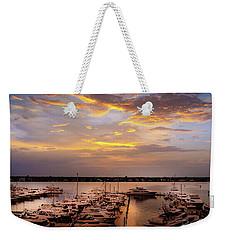 Harbour Sunsent Weekender Tote Bag