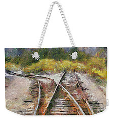 Hard Decision Weekender Tote Bag by Dragica Micki Fortuna