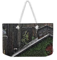 Hard Rain Weekender Tote Bag