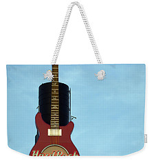 Hard Rock Cafe Weekender Tote Bag by Joseph Skompski