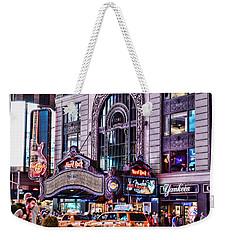 Hard Rock Cafe Weekender Tote Bag by Paul Ward