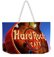 Hard Rock Hotel Guitar At Dawn Weekender Tote Bag by Aloha Art